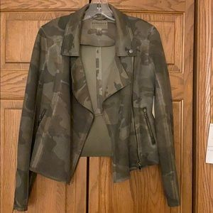 NWT Anthropologie Camo jacket
